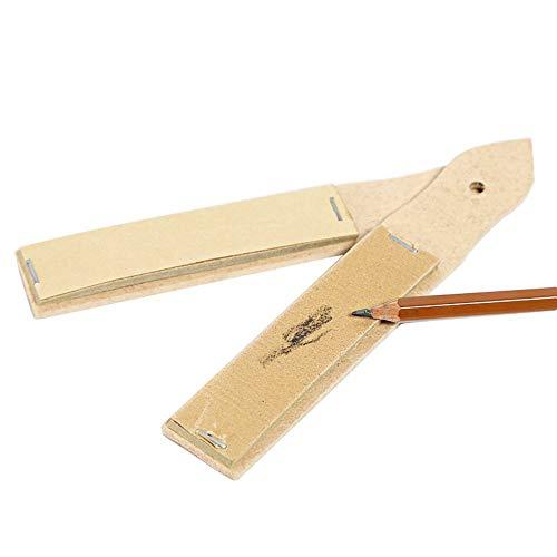 MyLifeUNIT Sandpaper Block Pencil Sharpener & Pointer