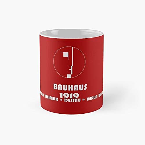 Bauhaus Original 1919 Logo Classic Mug   Mejor regalo divertido tazas de café 11 oz