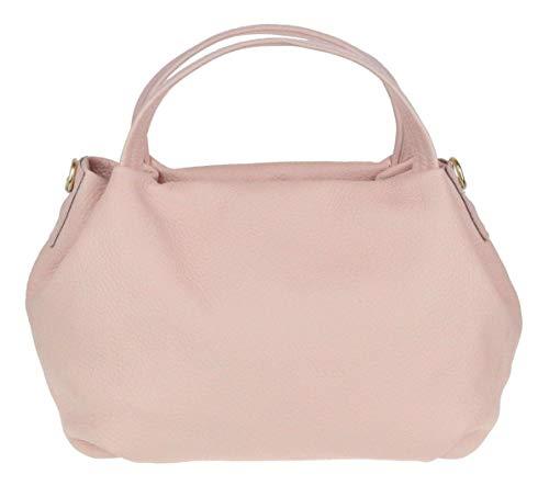 Girly Handbags cubo el bolso de cuero genuino
