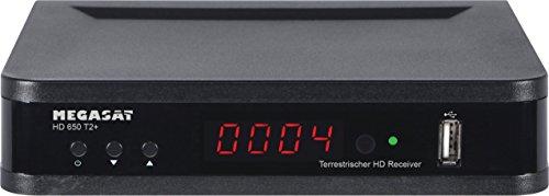Megasat DVB-T-Receiver HD 650 T2+, 12 / 230 Volt