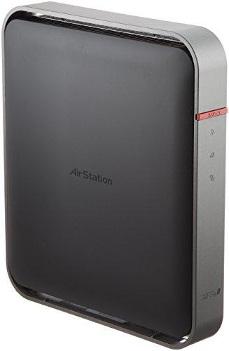 BUFFALO 【iPhone6対応】 11ac/n/a/b/g 無線LAN親機(Wi-Fiルーター) AOSS2 エアステーション ハイパワー Gi...