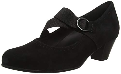 Gabor Shoes Damen Comfort Basic Pumps, Schwarz (Schwarz 47), 43 EU