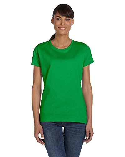 Fruit of the Loom Ladies' 5 oz, HD CottonÖ T-Shirt-Kelly-L