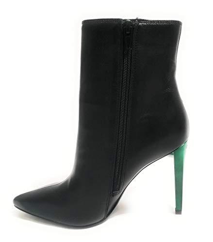 Guess Scarpe Donna Ankle Boot Tronchetto Mod. OPALL TC 90 Pelle Nero D19GU31