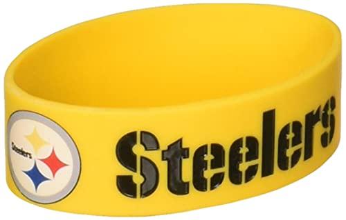 NFL pulsera de goma de silicona
