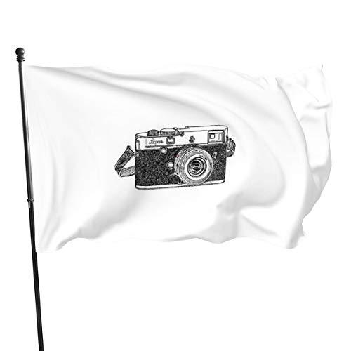 N/ Entfernungsmesser Kamera, Kunstdruck, Flagge, Banner, Flaggen, 91 x 152 cm