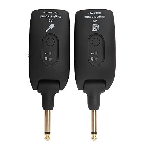 Kadimendium Batería incorporada Transmisor inalámbrico Profesional Instrumento Musical para Uso Profesional para grabadora de Audio