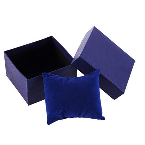 Presente Regalo de la joyería Caja de la Caja del Brazalete del Anillo para Pendientes de la muñeca del Reloj del almacenaje Box