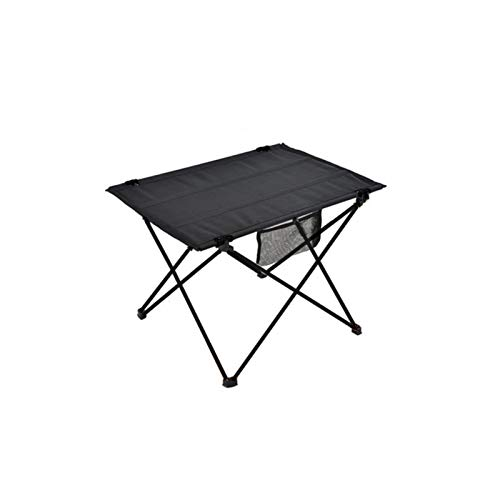 Mesa plegable ligera Mesa plegable al aire libre Camping Muebles portátiles Portátil Mesa de cama de aluminio ultraligero aleación de aluminio montañismo Senderismo Picnic Mesa plegable para Camping /
