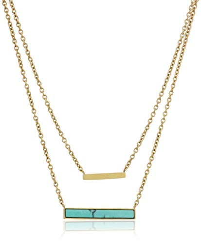 Modern Meadows Turquoise Necklace