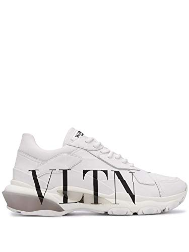 Valentino Luxury Fashion Garavani Herren RY2S0B21RKWA01 Weiss Leder Sneakers | Jahreszeit Permanent