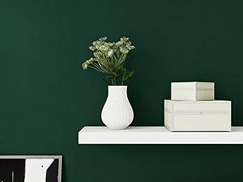 "Green Wallpaper Peel and Stick Wallpaper 17.71""x 197""Solid Color Contact Paper Liner Embossing Vinyl Furniture Countertop Self Adhesive Removable Waterproof Film Shelf Cabinet Desktop Covering DIY"