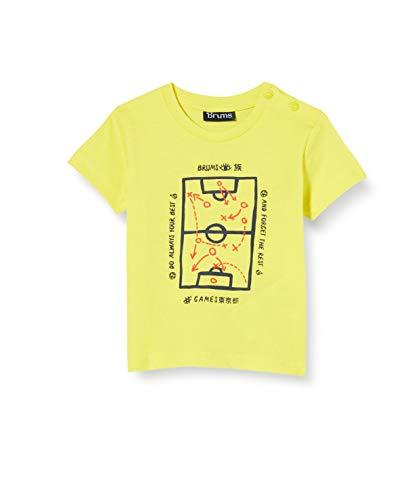 Brums T-Shirt Jersey con Stampa, Giallo (Giallo 14 428), 68 (Taglia Unica: 6M) Bimbo
