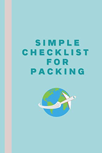 Simple Checklist For Packing: Simple Travel Checklist For Females, Females... - 31Florpxv9L. SL500