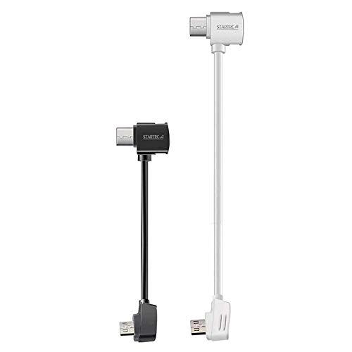 STARTRC Micro USB bis Typ-C USB Kabel für DJI Mavic Mini/Mavic 2 Pro Zoom/Mavic Pro Platinum/Mavic Air/Spark Remote Controller(3.9- und 11.8-Zoll)