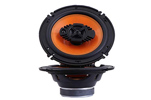 Bebop Bowstrick (BOS- 160) Car Audio with High Mega Bass 3-Way Coaxial 6-inch Car Speaker Music System Compatible with Stereo Player Systems Subwoofer and Woofer Amplifier Component Set