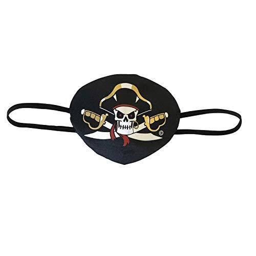 Liontouch 18106LT Cache-œil Pirate Capitaine Cross Enfants | Ligne Costumes Enfants