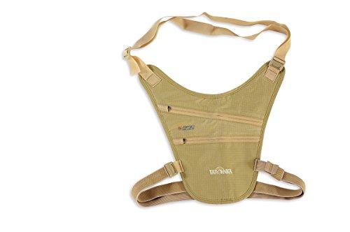 Tatonka Skin Chest Holster RFID B - Reise-Geldbörse mit TÜV-geprüftem RFID-Blocker und zwei Reißverschlusstaschen - Mit weicher, hautfreundlicher Rückseite - Zum Tragen wie ein Pistolenholster
