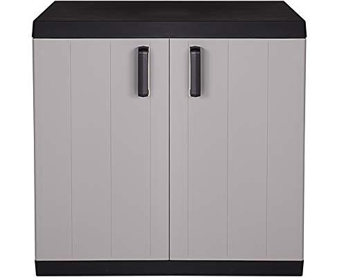 Ondis24 Kunststoffschrank MEGA Haushaltschrank Multifunktionsschrank XXL, 88 x 54 x 96 (H) cm, schnell aufgebaut, robuster Kunststoff