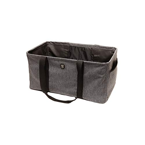 geckobrands Large All-Purpose Utility Tote Bag, Heather Grey