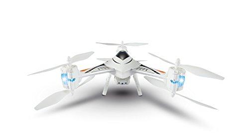 Tekk Drone Cx35C Phoenix Dron Semiprofesional con cámara HD y transmisión de vídeo para Vista en Primera Persona, Negro/Azul