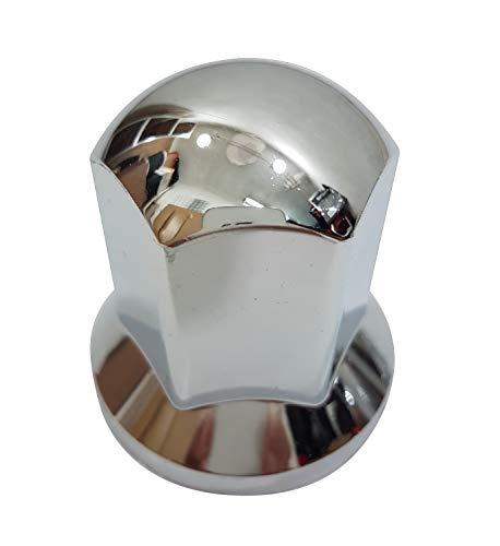 30 x 33 mm Kunststoff Radmutterkappen Chrom Schrauben Abdeckungen Dekoration LKW