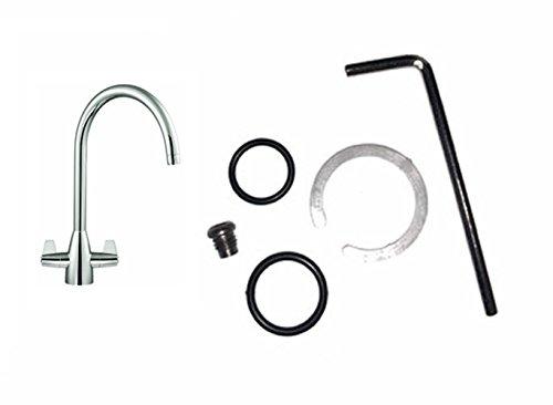 Wasserhahn-O-Ring-Dichtung, Reparatur-Set, Schwenkauslauf, FRANKE DAVOS J (2300R, 133.0069.156)