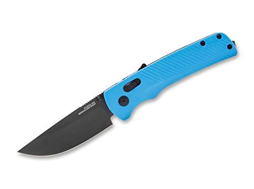 SOG Unisex– Erwachsene Flash at Civic Cyan Taschenmesser, blau, 21,1 cm