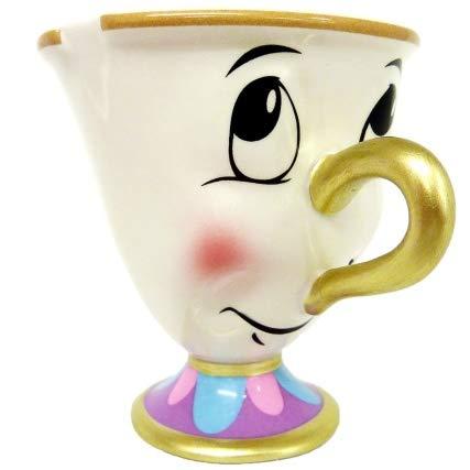 Adorable Regalo la Bella y la Bestia Chip Taza de Cerámica Perfecto a Escoger Taza de Café Té
