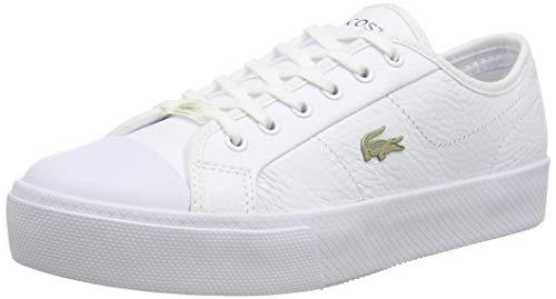 Lacoste Ziane Plus Grand 07211Cfa, Zapatillas Mujer, Wht/Wht, 37 EU
