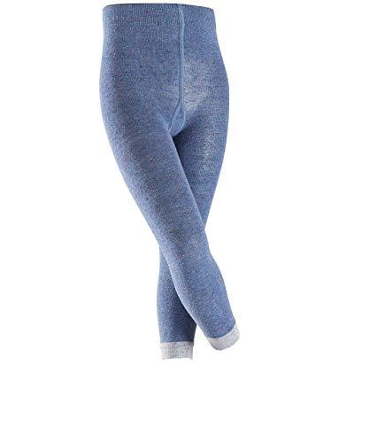 ESPRIT Kinder Leggings Multicolour Pixel - Baumwollmischung, 1 Stück, Blau (Light Denim 6660), Größe: 122-128