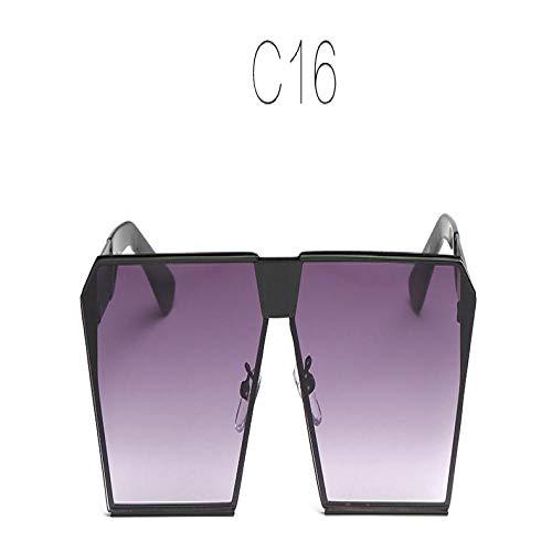 Sonnenbrille Herren Mode Farbe Frauen Sonnenbrille Einzigartige Übergröße Uv400 Gradient Vintage Brillengestell Für Frauen Sonnenbrillen Frauen C16
