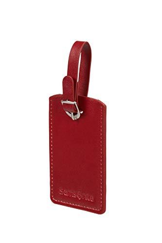 SAMSONITE Global Travel Accessories - Rectangle Etichetta per valigie 10 centimeters 1 Rosso (Red)