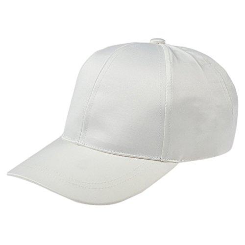 Tinnina - Gorra de béisbol para hombre y mujer de color fuerte,...