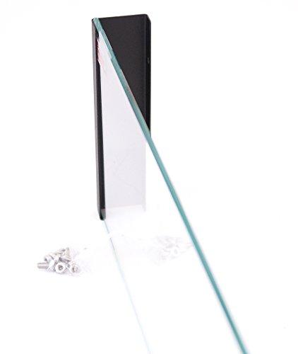 900X 400mm gel camino caminetto al bioetanolo Biocamino camino da parete Nero Opaco + vetro parabrezza con supporto per personal communication