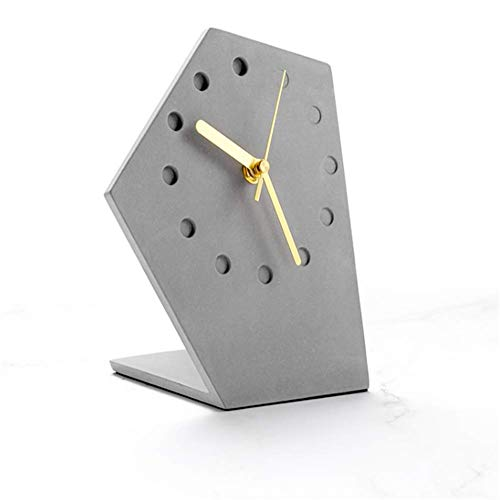 WJJW Pequeño Reloj Despertador Cama muda cabecera Reloj de Escritorio Creativo Reloj casero widget