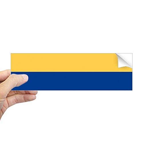 DIYthinker Colombia Nationale Vlag Zuid-Amerika Land Rechthoek Bumper Sticker Notebook Window Decal