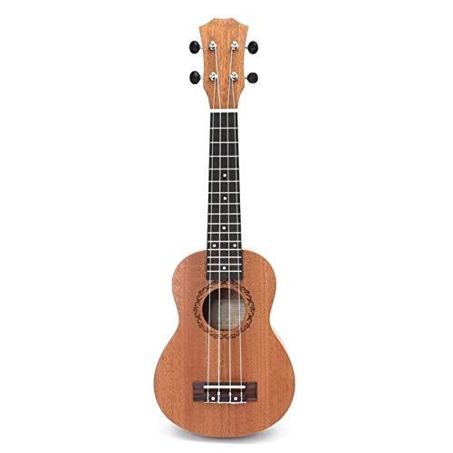21 Zoll 15 Bünde Mahagoni Sopraner Ukulele Gitarre Sapele Palisander 4 Sawings Hawaiian Gitarre Musikinstrumente