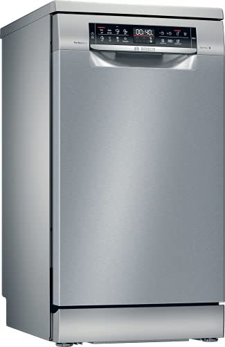 Bosch Electrodomésticos SPS6ZMI35E Serie 6 Lavavajillas de libre posicionamiento, 45 cm, color inoxidable