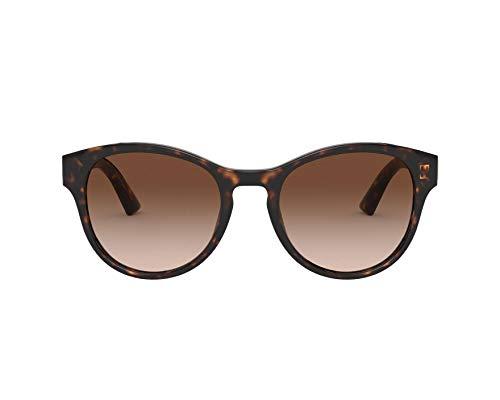 Dolce & Gabbana Gafas de Sol DG MONOGRAM DG 4376 DARK HAVANA/BROWN SHADED 52/20/140 mujer