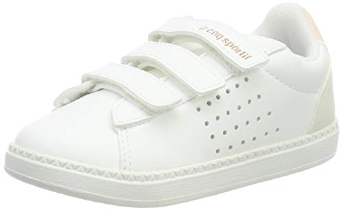 Le Coq Sportif COURTSTAR INF Shiny, Zapatillas Niños, Blanc Optical White Cloud...