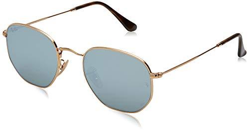 Ray-Ban gafas de sol grises RB3548N espejo del oro
