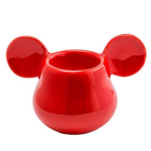 Joy Toy Mickey Mouse PORTAUOVO in Ceramica 3D Rosso