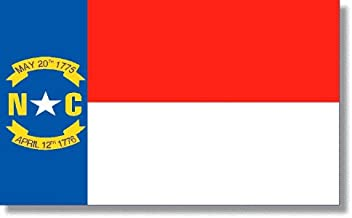 product image for 5x8' North Carolina 2ply Polyester State Flag