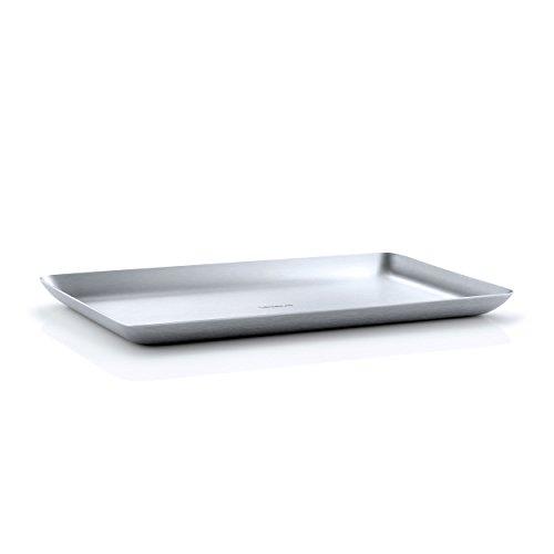 Blomus Tablett, Edelstahl, 1.5 x 15 x 25 cm