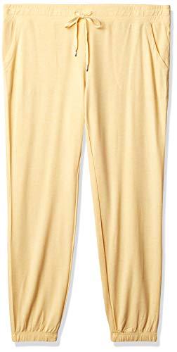 PJ Salvage Women's Banded Pant, Sunshine, XS