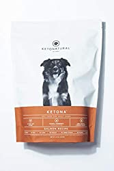 Ketona Salmon Recipe Dry Food for Adult Dogs - Low Carb, High-Protein, Grain-Free Dog Food