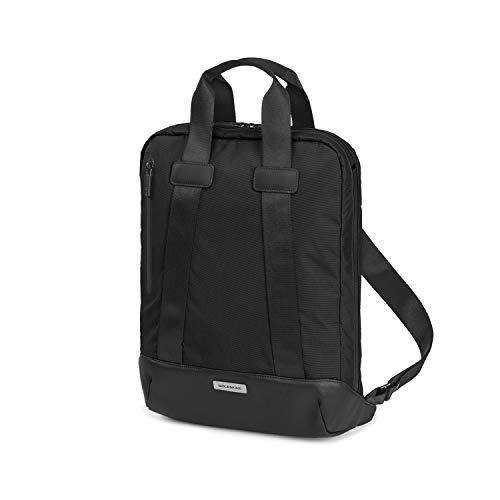 Moleskine (Metro Vertikale Gerätetasche, PC-Tasche für Laptop, Notebook, iPad und Tablet bis 15'', Wasserdichter PC-Rucksack, Größe 31 x 42 x 10 cm) Schwarz