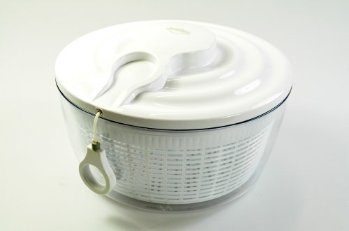 Küchenprofi Salatschleuder Maxi mit Seilzugtechnik weiß