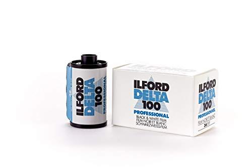 Ilford Delta 100, película de 35mm, rollo de 36 exposiciones